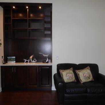 Custom Light Cabinet Shelf – GVA